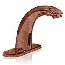 Plato Copper tone Finish Sensor Faucet