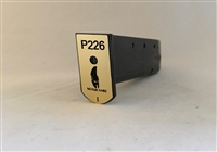 Sig Saur P226 Magazine Base Plate Stickers - Set of 6
