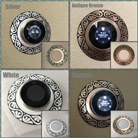 Nest Decorative Feather Style Thermostat Wall Plate