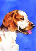 Welsh Springer Spaniel Garden Flag