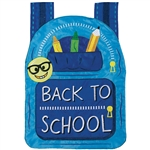 Back to School Applique House Flag