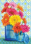 Gerbera Jars House Flag
