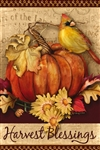 Pumpkin Harvest Decorative Garden Flag