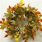Fall Birch & Berries Wreath