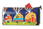 Fall Camping MailWraps Mailbox Cover