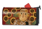 Harvest Scarecrow MailWraps Mailbox Cover