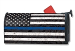 Support The Blue MailWraps Mailbox Cover
