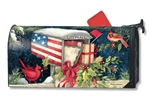Christmas Cards MailWraps Magnetic Mailbox Cover