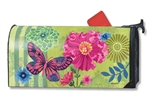 Capistrano Peony MailWraps Magnetic Mailbox Cover