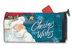 Santa Wishes MailWraps Magnetic Mailbox Cover