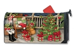 Santa's Porch MailWraps Magnetic Mailbox Cover