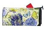 Hydrangea Beauties MailWraps Mailbox Cover