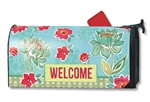 Dahlia Dance MailWraps Magnetic Mailbox Cover