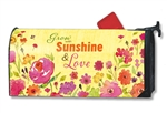 Grow With Sunshine MailWraps Magnetic Mailbox Cover