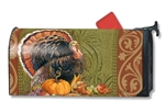 Thanksgiving Greeting MailWrap Magnetic Mailbox Cover