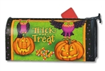Trick or Treat Owls MailWrap Magnetic Mailbox Cover