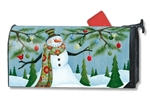 Let It Snow MailWrap Magnetic Mailbox Cover
