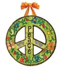 Peace Everywhere Door Decor