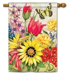 Botanical Garden BreezeArt Standard House Flag