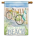 Beach Trail BreezeArt Standard House Flag