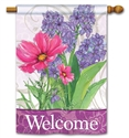 Garden Bouquet BreezeArt Standard House Flag