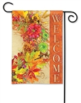 Autumn Wreath BreezeArt Garden Flag