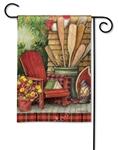 Fall Relaxation BreezeArt Garden Flag