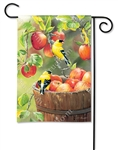 Apple Harvest Friends BreezeArt Garden Flag