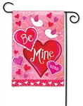Be Mine Birds BreezeArt Garden Flag