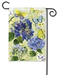 Hydrangea Beauties BreezeArt Garden Flag
