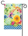 Fresh and Pretty Floral BreezeArt Garden Flag