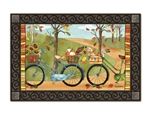 Autumn Bike Ride  MatMates Decorative Doormat