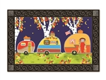 Fall Camping MatMates Decorative Doormat