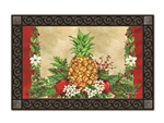 Holiday Pineapple MatMates Decorative Doormat