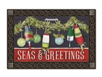 Seas and Greetings MatMates Decorative Doormat