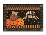Owloween Fun  MatMates Decorative Doormat