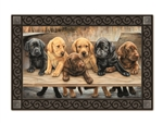 Bundles of Cuteness MatMates Decorative Doormat