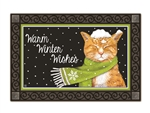 It's Cold Outside MatMates Decorative Doormat