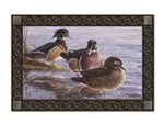 Wood Duck  MatMates Decorative Doormat