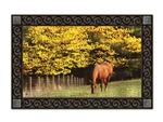 Out to Pasture MatMates Decorative Doormat