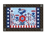 Freedom Fence MatMates Doormat