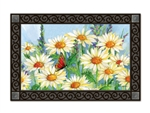 Shasta Daisies MatMates Decorative Doormat