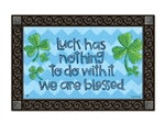 Irish Blessings MatMates Decorative Doormat