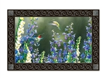 Hummingbird Garden MatMates Decorative Doormat