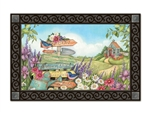 Signs of Spring MatMates Decorative Doormat