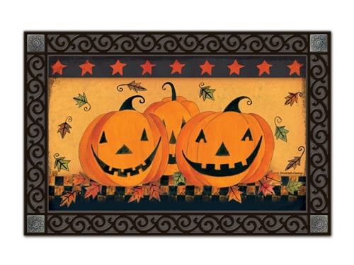 Halloween Glow MatMates Doormat