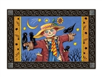 Moonlight Scarecrow  MatMates Doormat