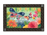 Butterflies in Flight MatMates Decorative Doormat