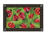 Lucky Ladbugs MatMates Decorative Doormat