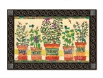 Herb Garden MatMates Decorative Doormat